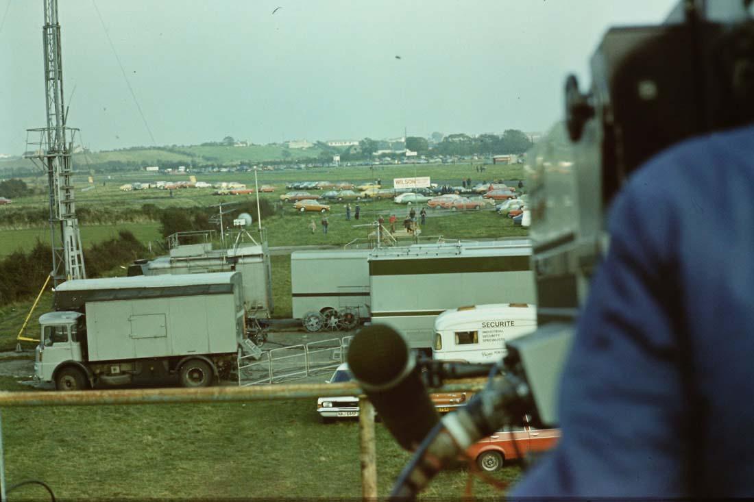 BBC NI unit Kirkistown Raceway 1977