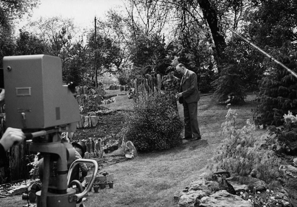 C.H. Middleton in The BBC garden