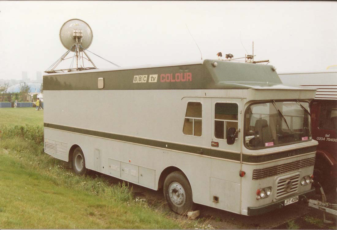 CMCR 14, in its final days in BBC service