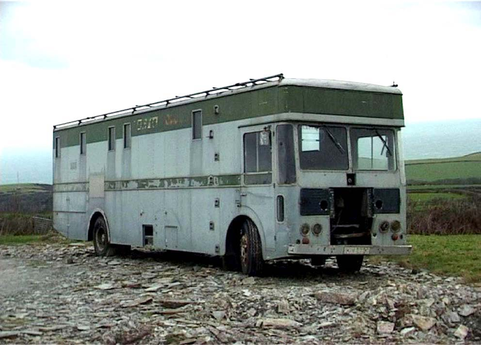 The former LO4 - Type-2 - CMCR 4 spotted looking much the worse for wear near Boscastle, Cornwall.