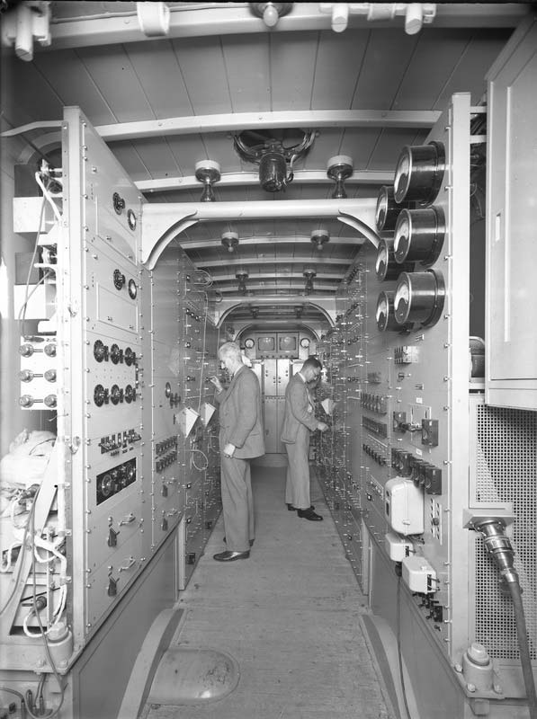 Inside the first BBC mobile control room