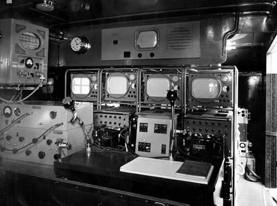 Inside MCR 4 - Control room for Empire Pool