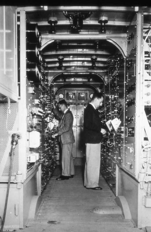 The interior of MCR 1