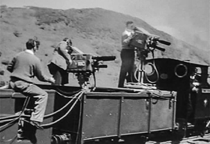 Marconi MkIII Cameras on Talyllyn Railway