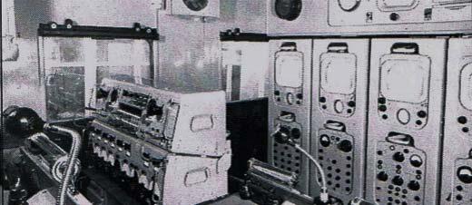 Interior of MCR 3
