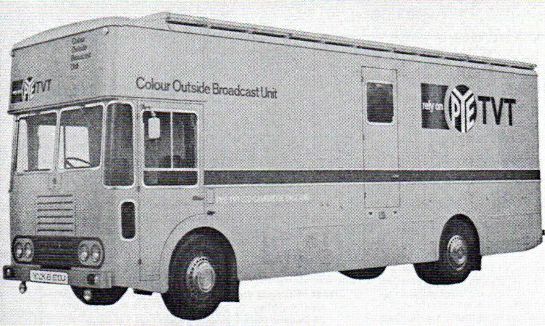 Pye Colour Demo Unit 1972 (later CMCR 13)