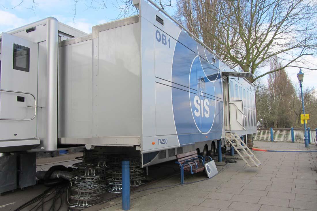 SIS-Live's OB1 at Putney Bridge