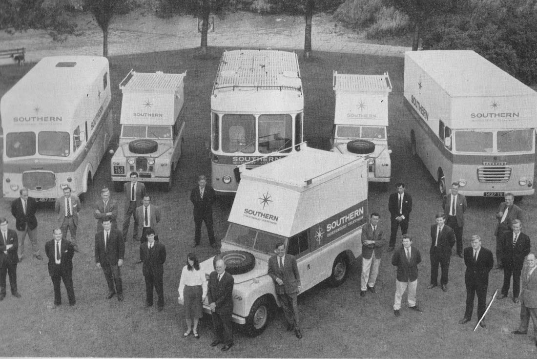 Southern Television's OB Fleet