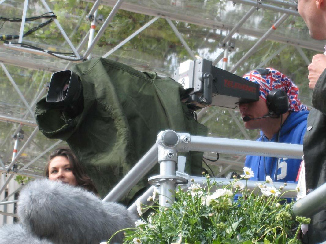 Televising the 2011 Royal Wedding