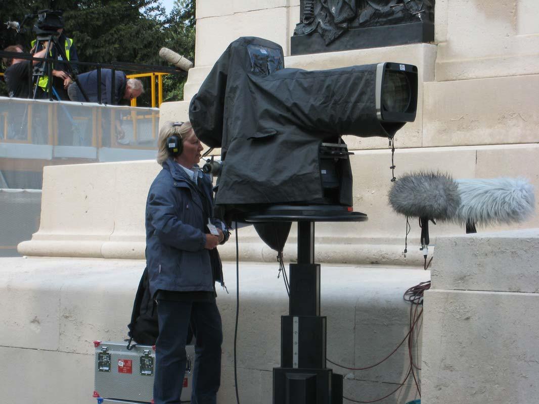 Televising the Royal Wedding - 2011