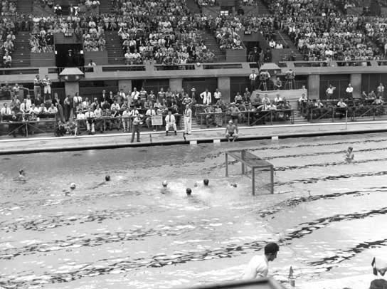 Water Polo in the Empire Pool