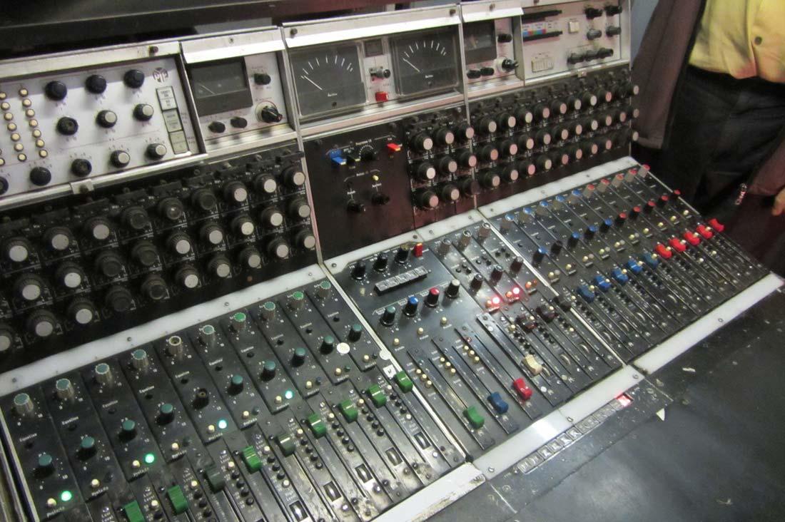 23 channel Pye desk