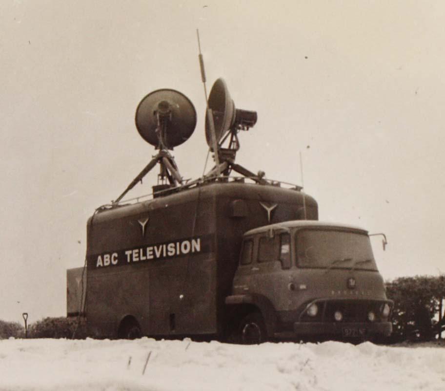 ABC television truck