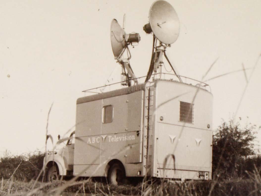 ABC Television van
