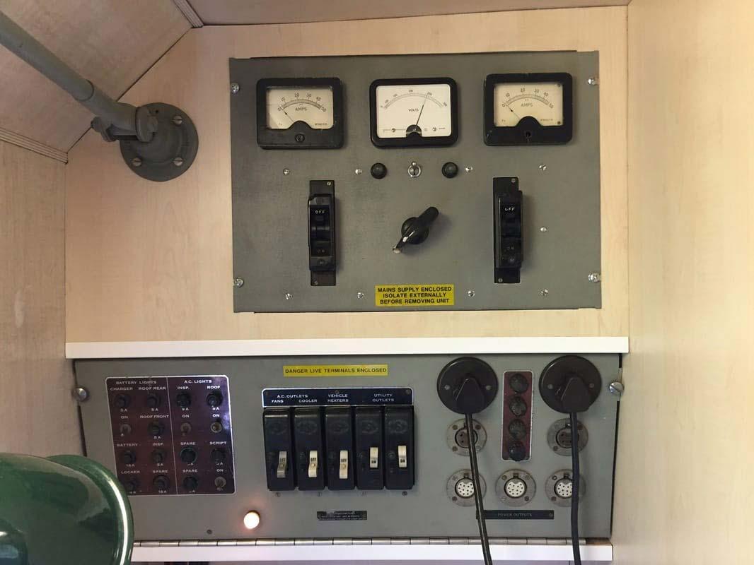 BBC Marconi Unit Interior
