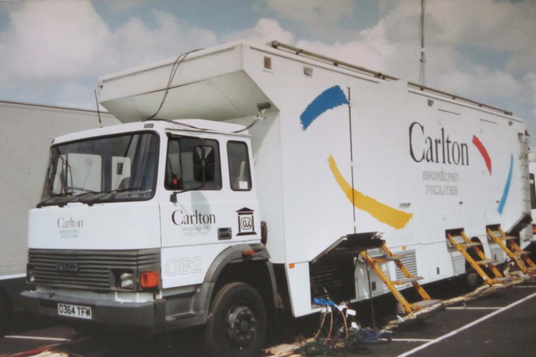 Carlton Television OB 2
