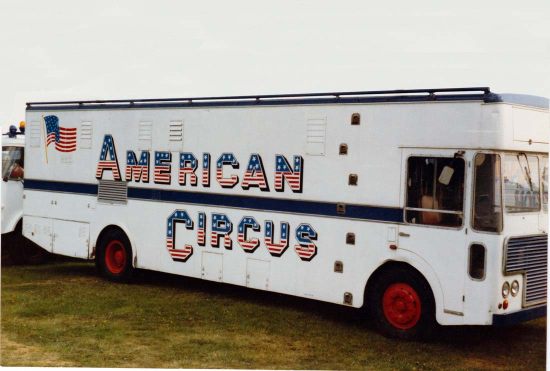 Former CMCR 6 - LO5 with the American Circus