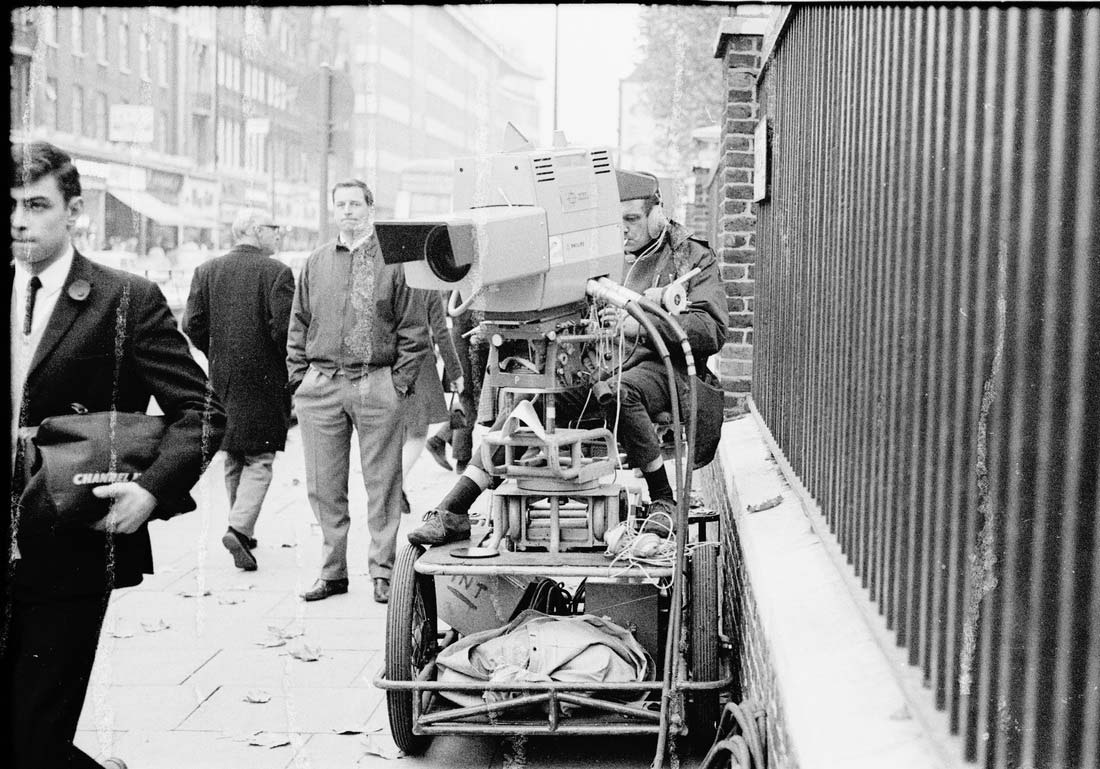 Intertel Outside Broadcast from the Kings Road in 1966