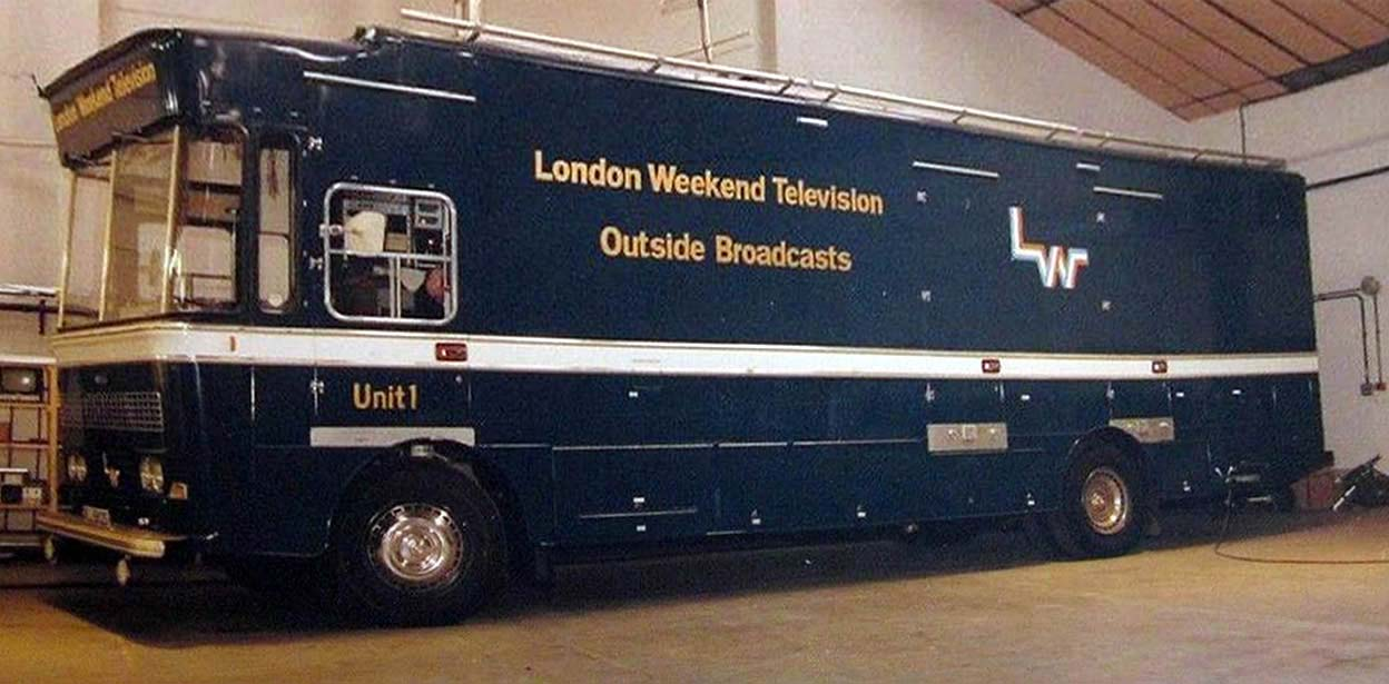 London Weekend Television Outside Broadcasts Unit 1