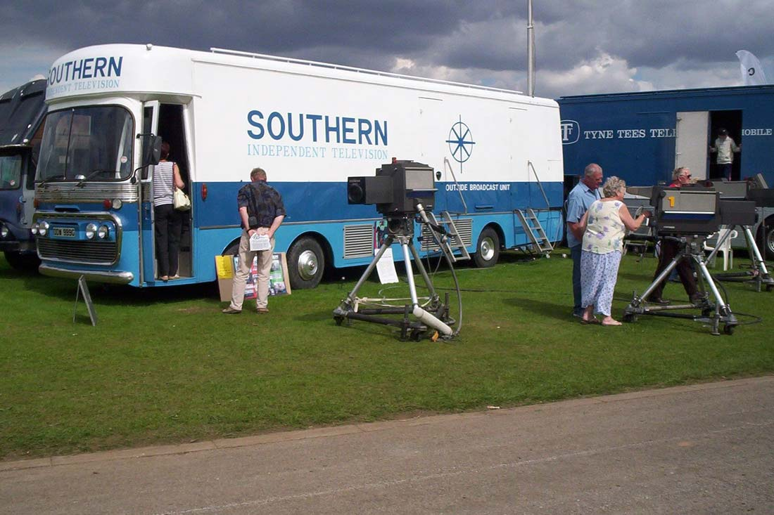Southern Independent Television Outside Broadcast Unit restored
